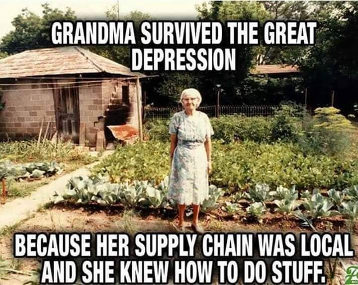 Grandma - Local Supply Chain