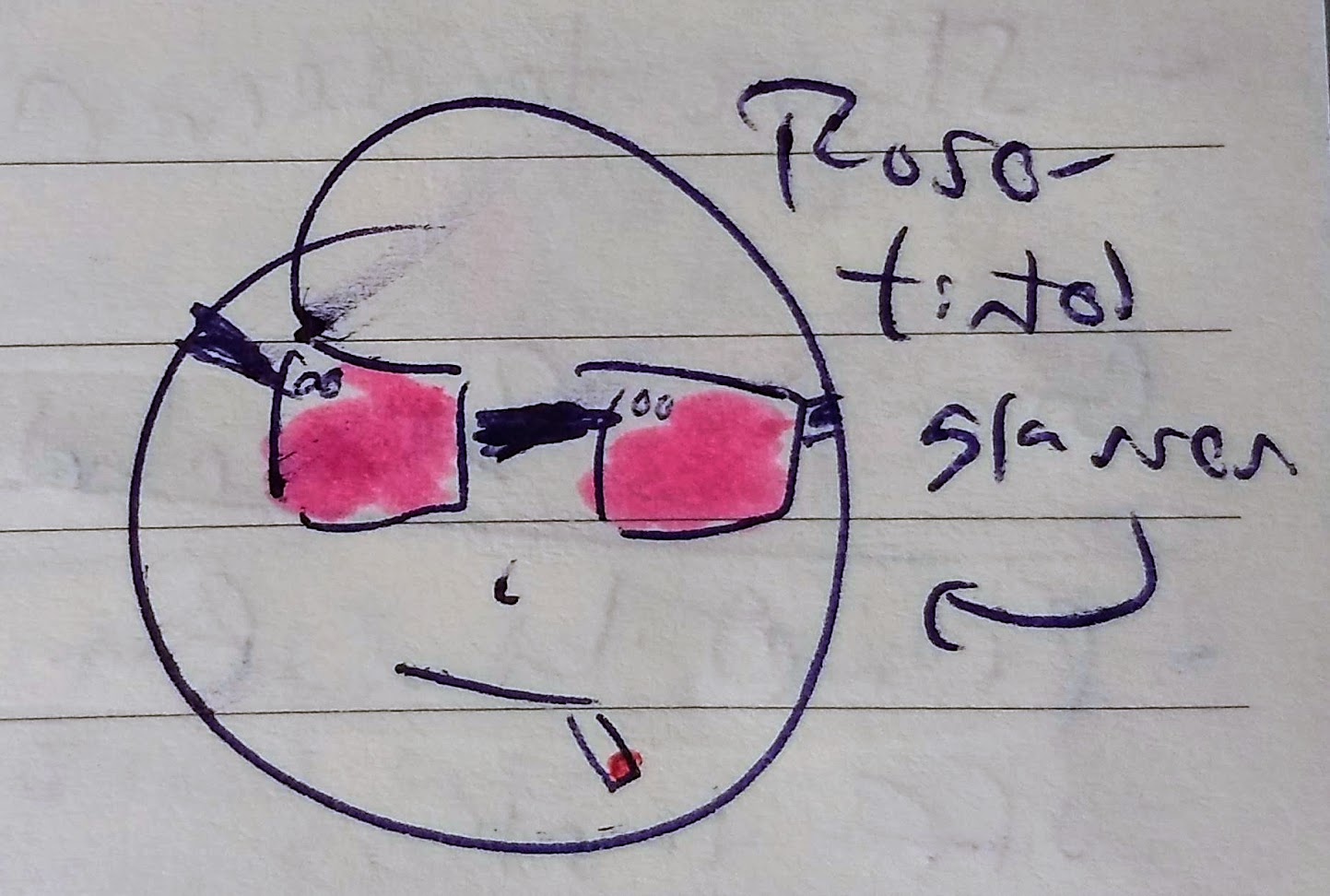 Sunday Doodles I, 10 November 2019 - Rose-Tinted Glasses