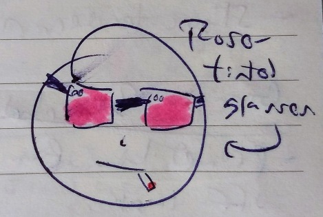 Sunday Doodles I, 10 November 2019 - Rose-Tinted Glasses