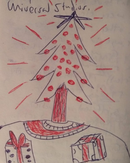 Sunday Doodles LVIII, 20 December 2020 - Christmas Tree
